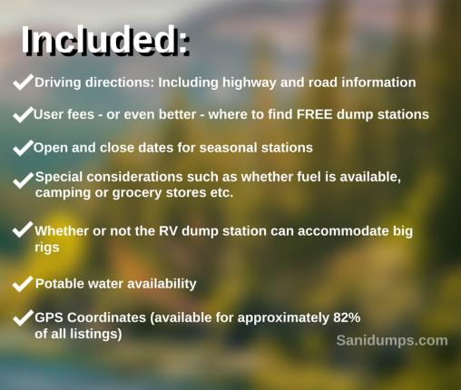 Sanidumps: Order eBooks for RV dump stations